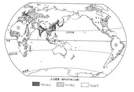 各大洲气候类型图解