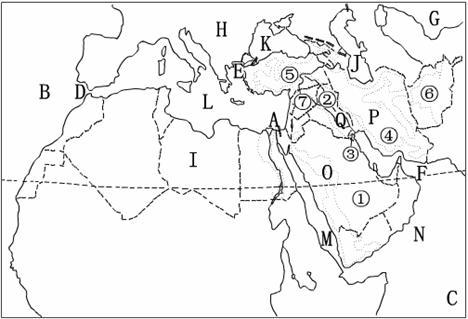 中考地理复习七年级地理下册知识网络-地九年上末