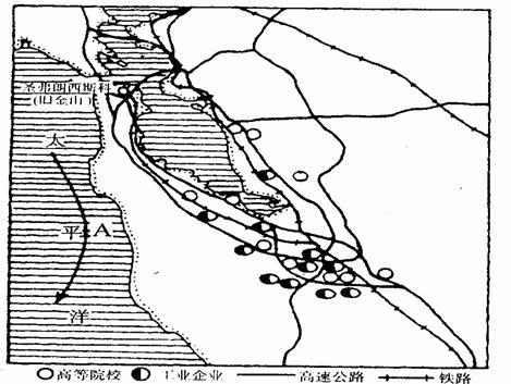 """读美国""""硅谷""""地区略图"""