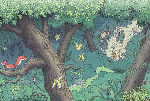 《大自然的启示》教材插图