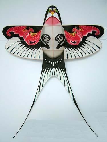 手绘风筝图案装饰手绘
